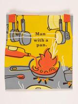 """""""Man With A Pan"""" Apron"""