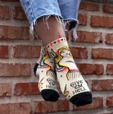 """Give 'Em Hell"" Women's Ankle Socks"