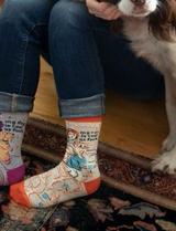 """""""My Cat Is Cool As Fuck"""" Women's Crew Socks"""