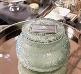 French Cade Lavender - Embossed Chawan Bowl Candle by Voluspa