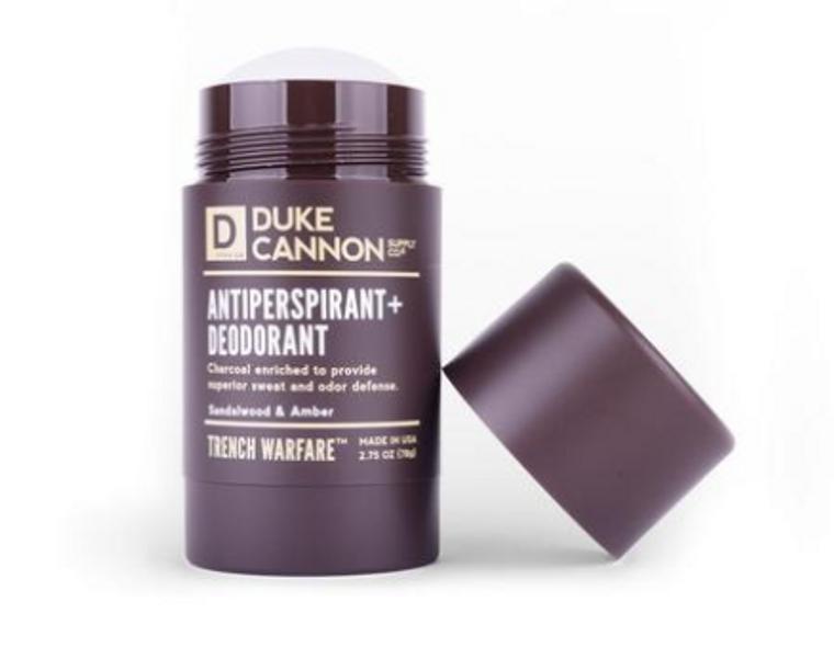 Sandalwood & Amber - Trench Warfare Antiperspirant + Deodorant
