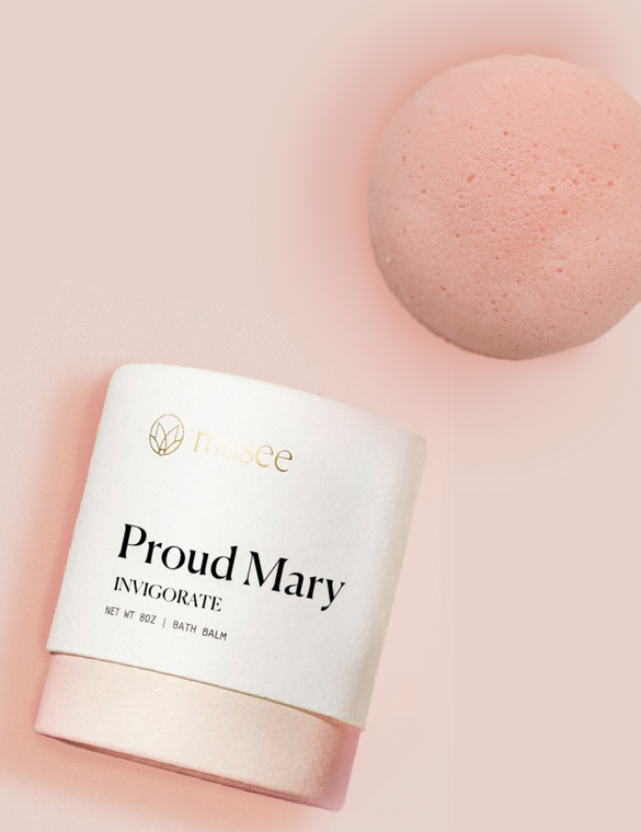 """Proud Mary"" Crisp Mint Therapy Bath Balm"