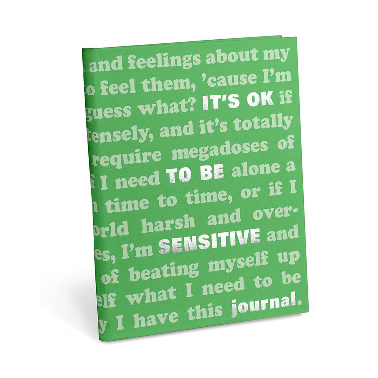 """""""It's Ok To Be Sensitive"""" Prompted Journal"""