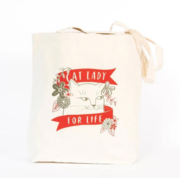 """""""Cat Lady"""" Tote Bag"""