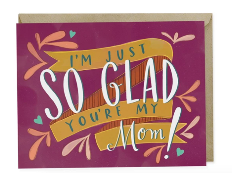 So Glad You're My Mom - Support Card