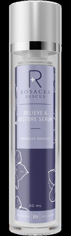 Relieve & Restore Serum (Sensitive Skin Complex) - Rosacea Rescue