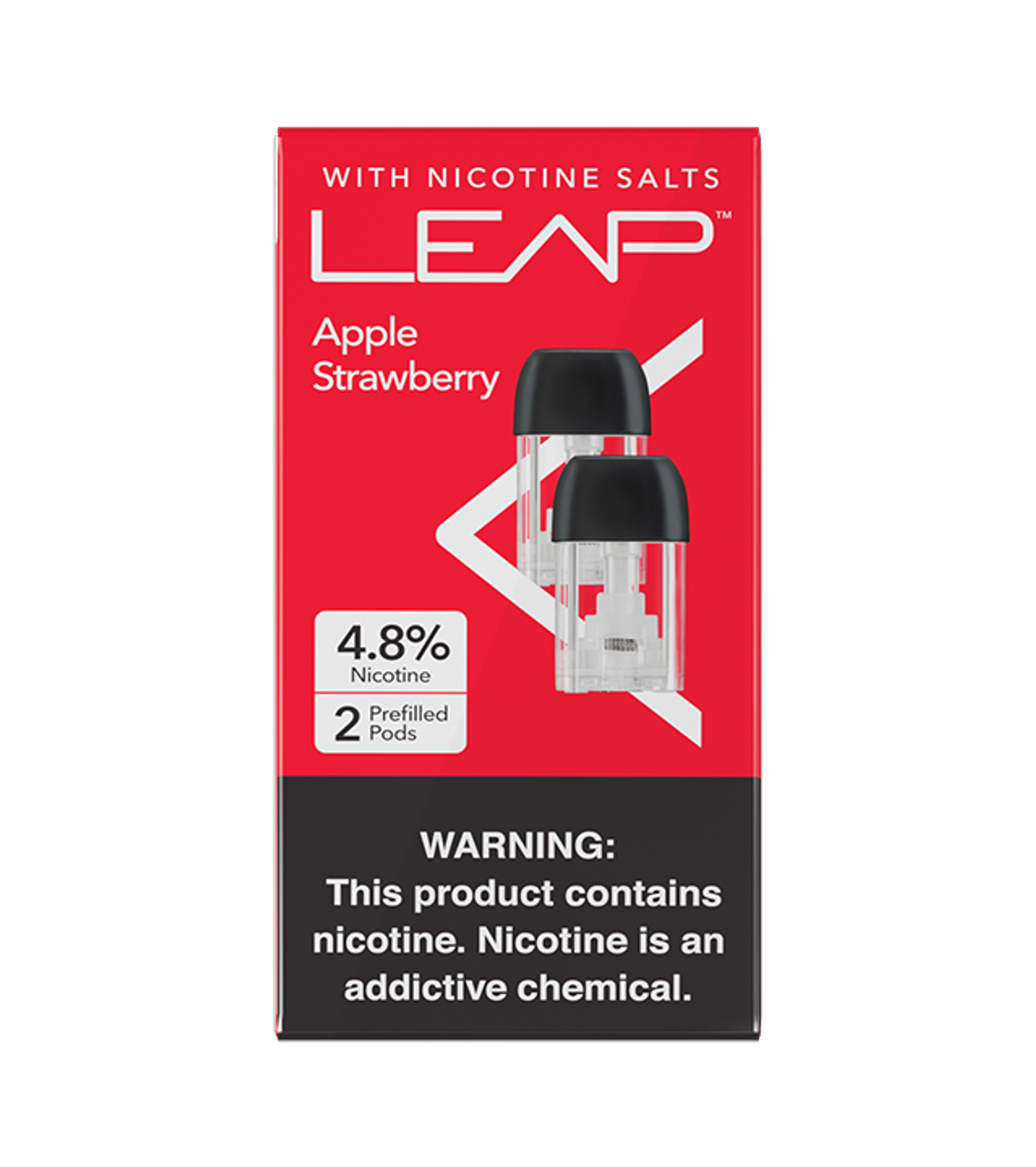 Leap® Apple Strawberry Refill Pods
