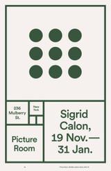 3 x 3 by Sigrid Calon