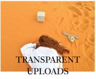 Transparent Uploads by Hayden Dunham