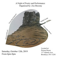 A Night of Poetry+Performance hosted by Zoe Brezsny