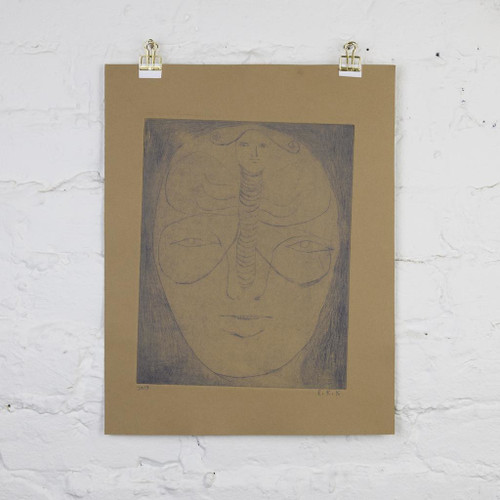 Untitled Monotype Print 8