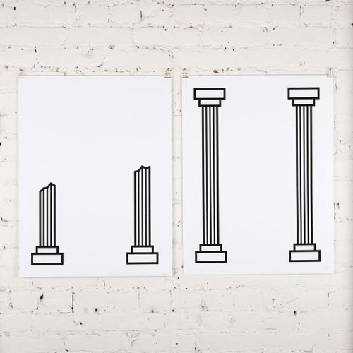 Pillars Diptych