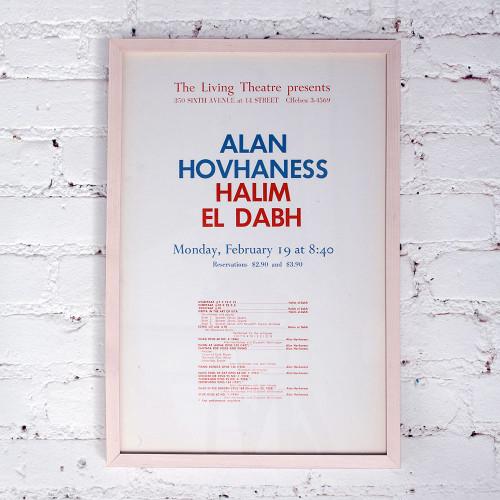 Alan Hovhaness, Halim El-Dabh