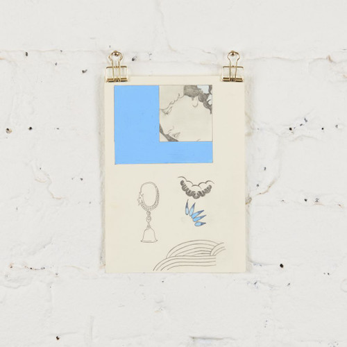 Elements for Printing: Blue Silk