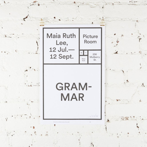 Featured Artist Poster: Maia Ruth Lee