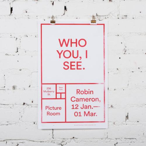 Featured Artist Poster: Robin Cameron