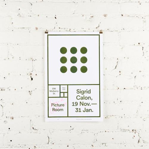 Featured Artist Poster: Sigrid Calon