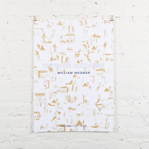 Featured Artist Poster: William Wegman, Gold
