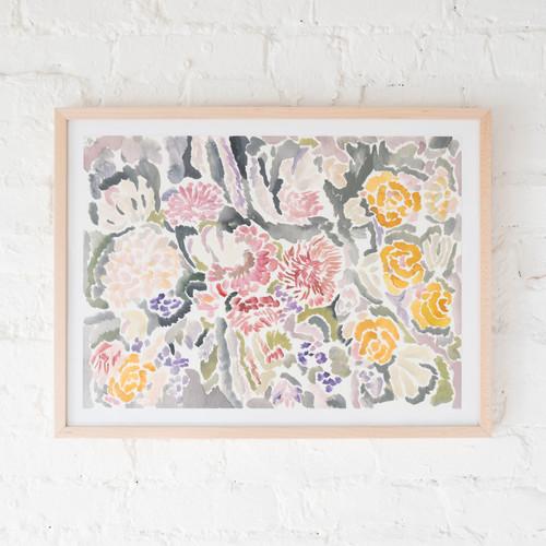 Floral (Large), I
