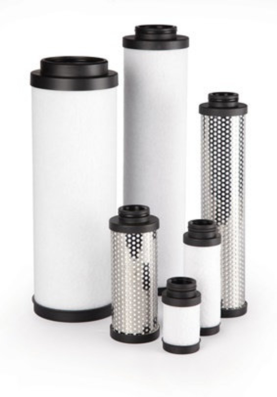 JE-C80802 Replacement Filter Element for Airtek JL0802-C8.01 Micron Particulate//.01 PPM Oil Removal
