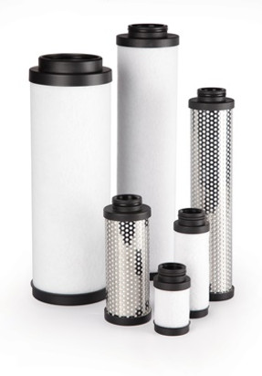 Direct Interchange Millennium-Filters MW-51-230-50C-10-pack 51-230-50C Headline Pneumatic Compressed Air Filter Element Pack of 10 White