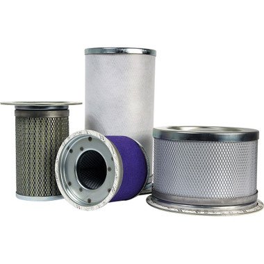 10CU25-130 Replacement Filter Element for Finite HN6S-10CU 1 Micron Particulate//1 PPM Oil Removal Efficiency