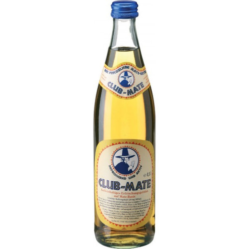 Club Mate, Original, Large, 500ml, Dublin, Ireland, Club m8, Clubmate, Club-Mate, Vegan, Drink