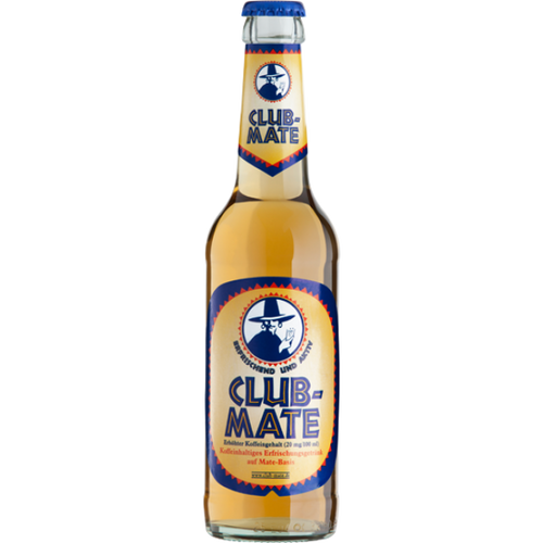 Club Mate, Original, Small, 330 ml, Dublin, Ireland, Club m8, Clubmate, Club-Mate, Vegan, Drink