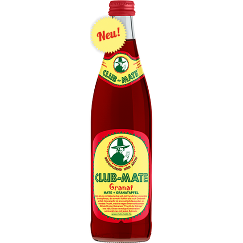 Club Mate Ireland Granat