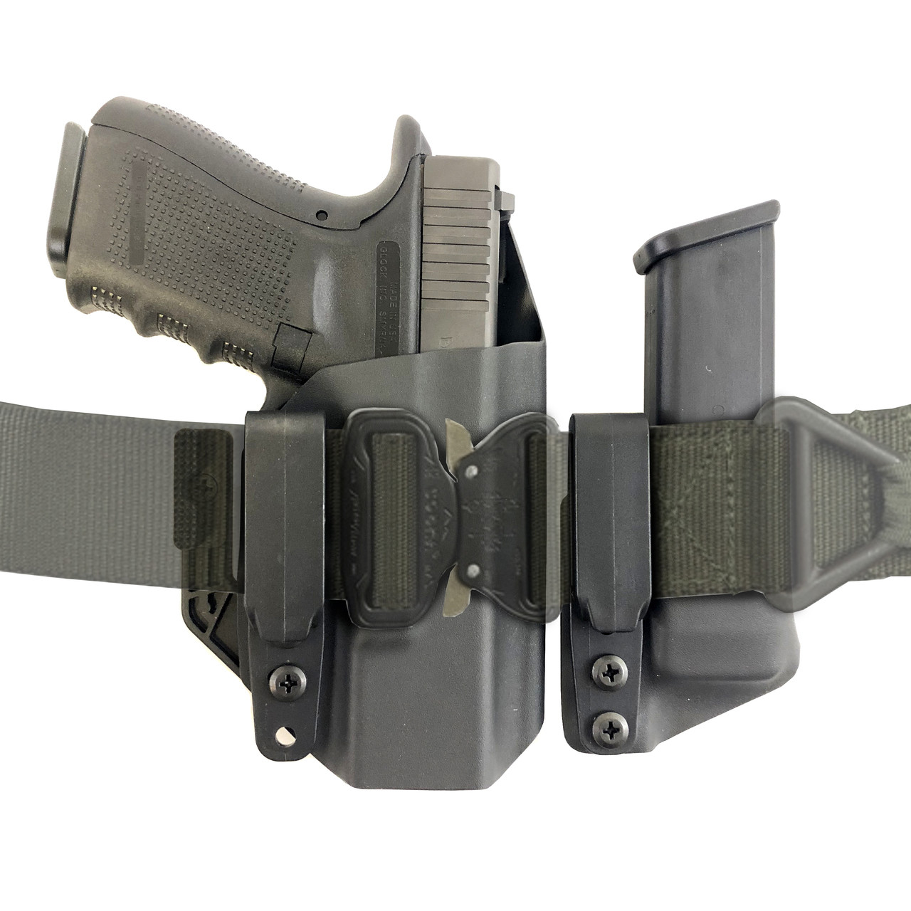 A-IWB Secret Agent Kydex Holster Set