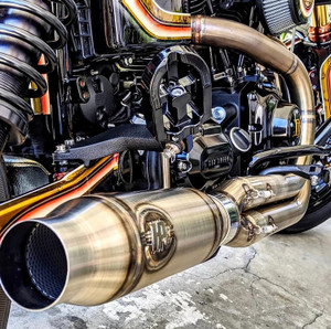 HPiXSDC Stainless Dyna® Exhaust, '06+