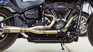 ROYAL-T RACING M8 SOFTAIL PIPE