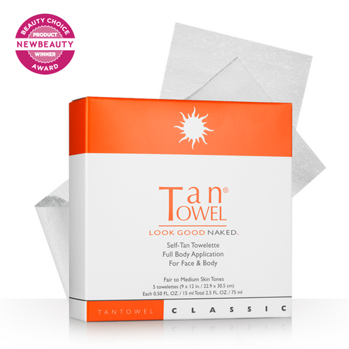 Tan Towel Full Body Classic Self-Tan Towelettes - 5 Pack