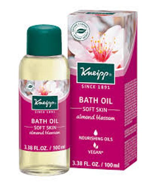 Soft Skin Bath Oil: Almond Blossom