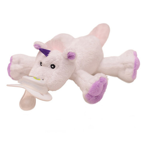 Nookums Paci plushies rattle sound Unicorn pacifier