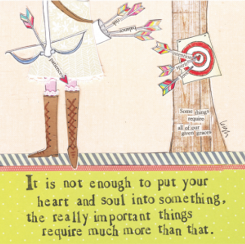 Really Important Things Card