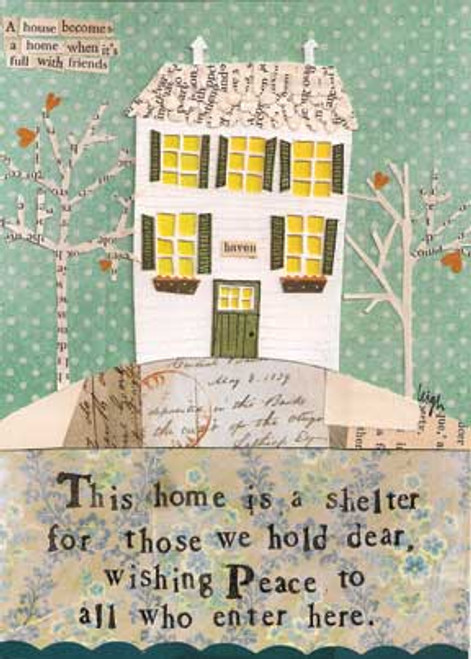 Home is a Shelter Card