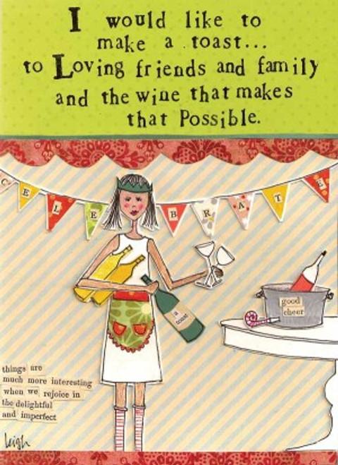 Make a Toast Card