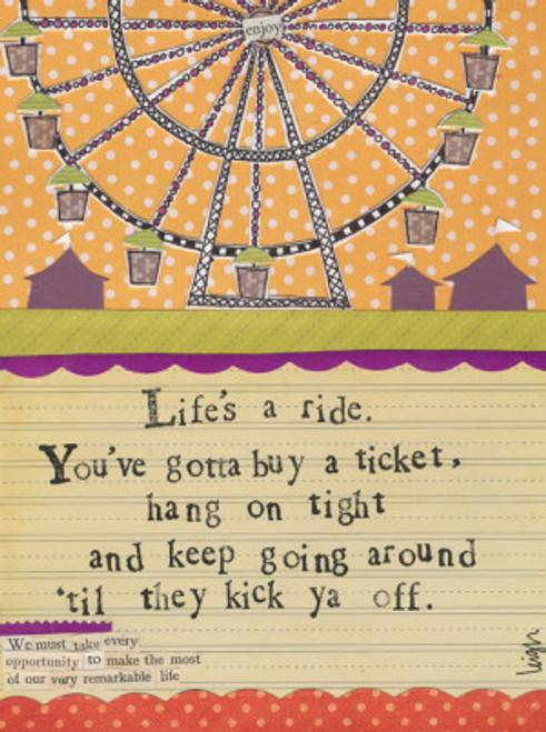 Life's a Ride Card