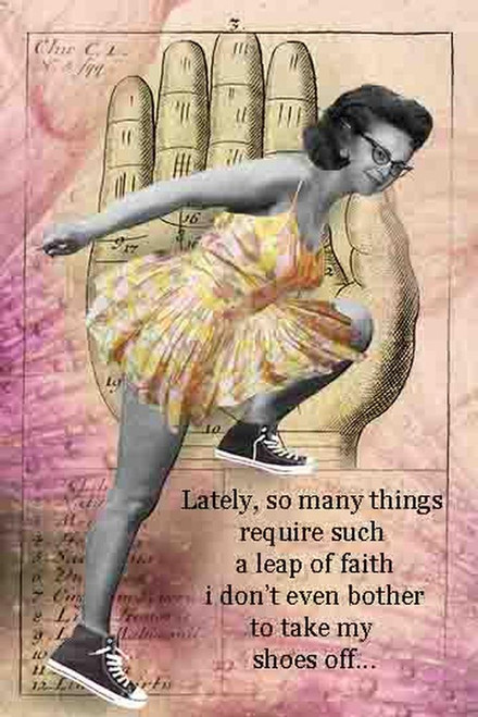 Leap of Faith Card