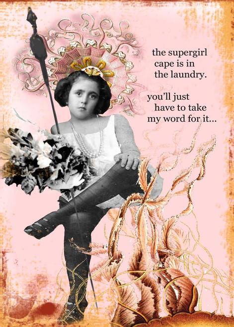 Super Girl Card