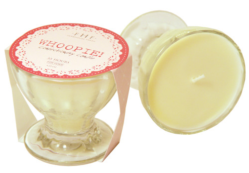 Whoopie! Cream Confectionery Glass Candle