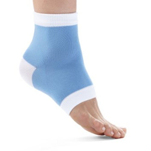 Blue Night Care Moisturizing Gel Heel Socks