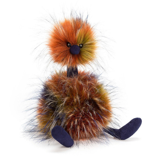 Jellycat PomPom Large character.  Darling and wild Jellycat!  A spiced delight!  Hard to find, retired Pom Pom