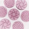 Borosilicate Channel Cap: Rozay Pink