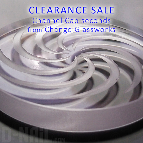 Channel Cap Seconds - Clearance Sale