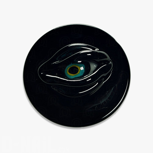 Harold Ludeman Sculpted Eye Channel Cap, Black Coins