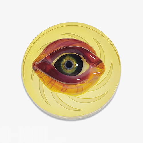 Harold Ludeman Sculpted Eye Channel Cap, Yellow Coins