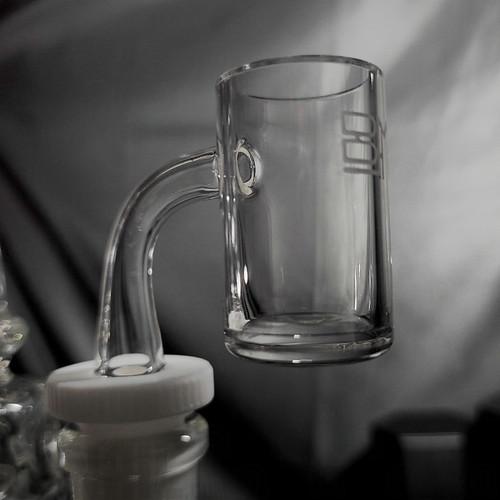 24mm Black Market Glass Banger