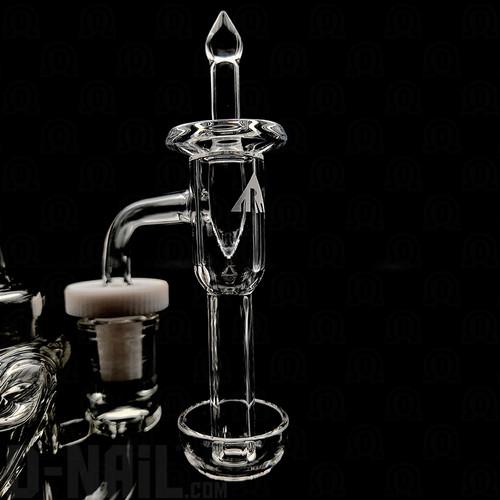 7x10 Pukinbeagle/Rawson Glassworks Slurper with 25mm Long Cone Apex Cap